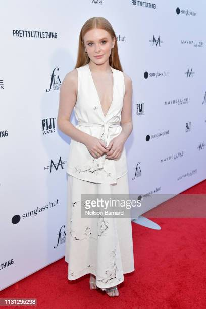 Abigail Cowen attends The Daily Front Row Fashion LA Awards 2019 on March 17 2019 in Los Angeles California