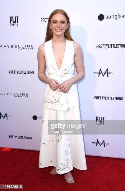 Abigail Cowen attends The Daily Front Row's 5th Annual Fashion Los Angeles Awards at Bevserly Hills Hotel on March 17 2019 in Beverly Hills California