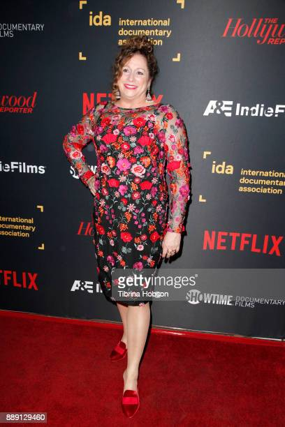 Abigail Disney at the 33rd Annual IDA Documentary Awards at Paramount Theatre on December 9, 2017 in Los Angeles, California.