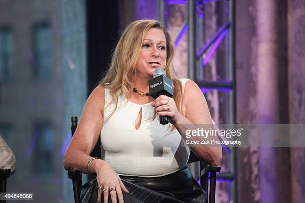 Abigail Disney attends AOL BUILD Presents The Armor Of Light at AOL Studios In New York on October 29 2015 in New York City