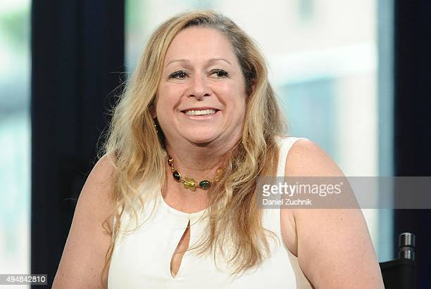 Abigail Disney attends AOL Build to discuss her film 'The Armor of Light' at AOL Studios on October 29 2015 in New York City