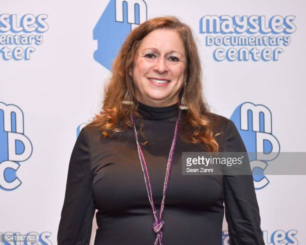 Abigail Disney attends The Maysles Documentary Center's Albie Award Dinner at a Private Club on September 26 2018 in New York City