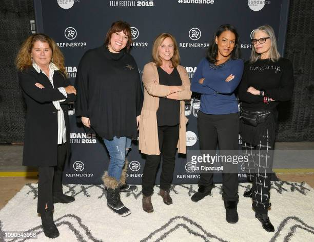 Abigail Disney Caterina Fake Barbara Bridges Brenda Robinson and Ruth Ann Harnisch attend the Women At Sundance Celebration during the 2019 Sundance...
