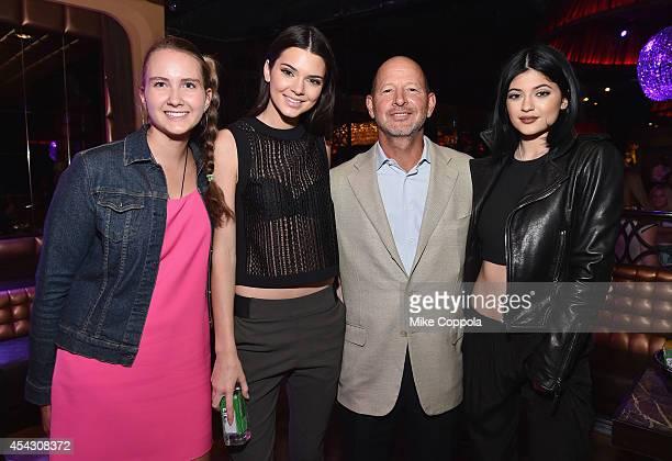 Abigail Galotti Kendall Jenner Ron Galotti and Kylie Jenner attend DuJour Magazine's Jason Binn celebrating Kendall and Kylie Jenner's Bruce Weber...