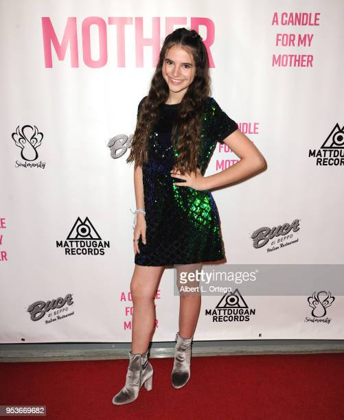 Abigail Haley arrives for a luncheon in honor of Mother's Day for the release of Pamela L Newton's 'A Candle For My Mother' held at Los Angeles Film...