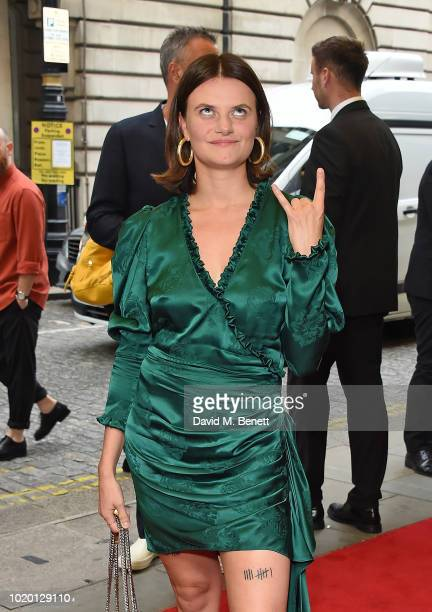 Abigail Hardingham attends a special screening of 'The Innocents' at The Curzon Mayfair on August 20 2018 in London England