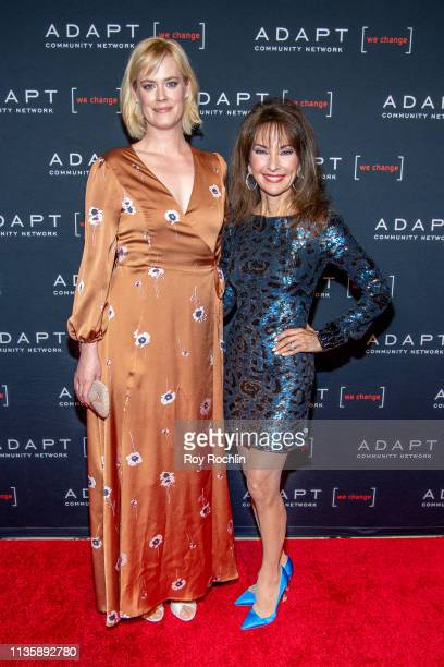 Abigail Hawk and Susan Lucci attend the 2019 Adapt Leadership Awards at Cipriani 42nd Street on March 14 2019 in New York City