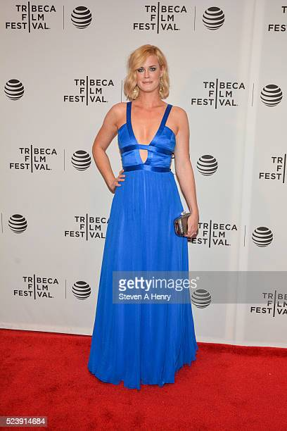 Abigail Hawk attends the 'Almost Paris' premiere during the 2016 Tribeca Film Festival at Chelsea Bow Tie Cinemas on April 24 2016 in New York City
