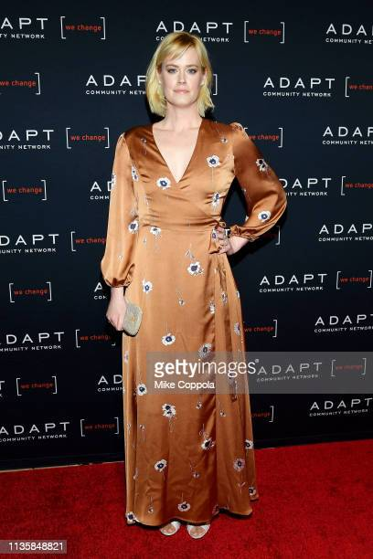 Abigail Hawk attends the The 2019 2nd Annual ADAPT Leadership Awards at Cipriani 42nd Street on March 14 2019 in New York City