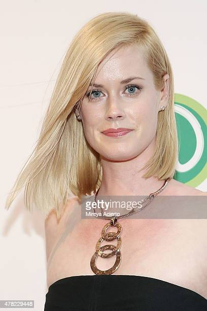 Abigail Hawk attends the Wahlburgers Coney Island VIP Preview Party at Wahlburgers Coney Island on June 23 2015 in New York City
