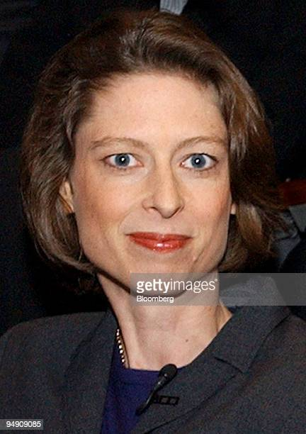 Abigail Johnson president of Fidelity Investments' mutual fund division is pictured in Boston in this February 2002 photo Fidelity has so far avoided...