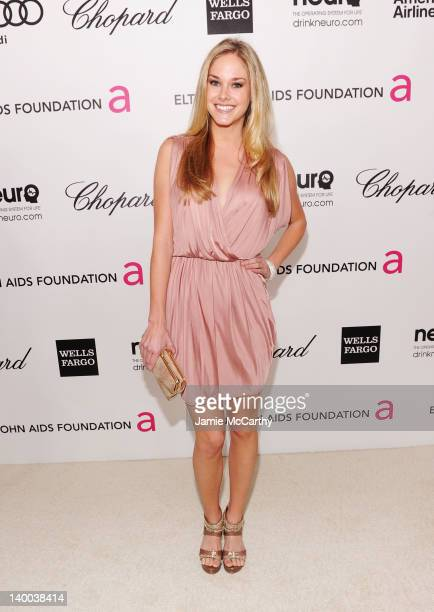 Abigail Klein arrives at the 20th Annual Elton John AIDS Foundation Academy Awards Viewing Party at The City of West Hollywood Park on February 26...