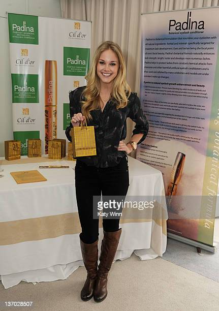 Abigail Klein attends the 2012 DPA Golden Globe Awards Gift Suite on January 14 2012 in Beverly Hills California