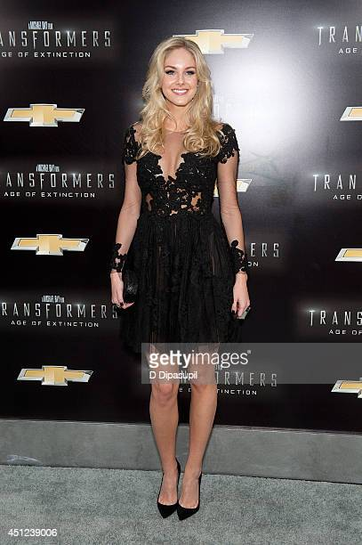 Abigail Klein attends the 'Transformers Age Of Extinction' premiere at Ziegfeld Theater on June 25 2014 in New York City