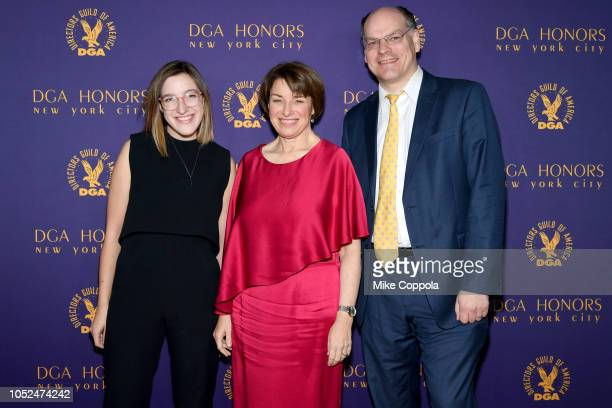 Abigail Klobuchar Bessler Amy Klobuchar and John Bessler attend the 2018 DGA Honors at DGA Theater on October 18 2018 in New York City