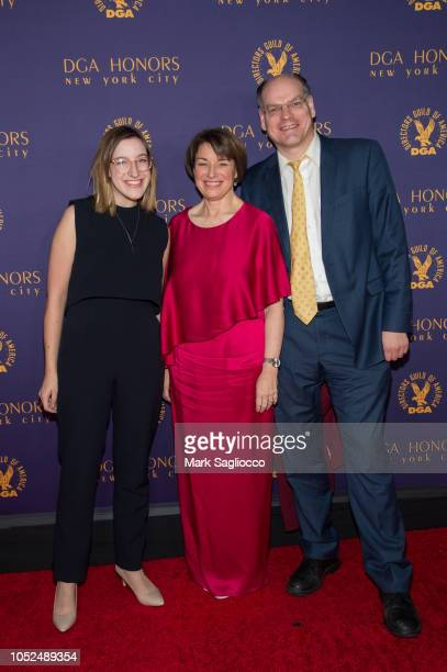 Abigail Klobuchar Bessler Amy Klobuchar and John Bessler attend the 2018 Directors Guild of America Honors at DGA Theater on October 18 2018 in New...