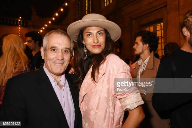 Abigail Lopez Cruz and Jean Ralph Adiba attend 'La Bomba' Jacquemus After Show Party Paris Fashion Week Womenswear Spring/Summer 2018 at Musee...