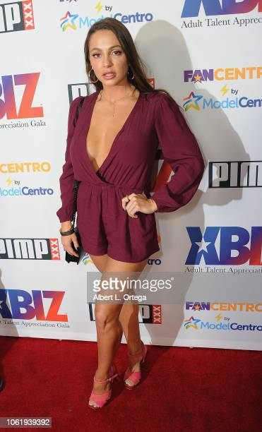 Abigail Mac arrives for XBIZ: Rise - Adult Talent Appreciation Gala held at Exchange LA on November 14, 2018 in Los Angeles, California.