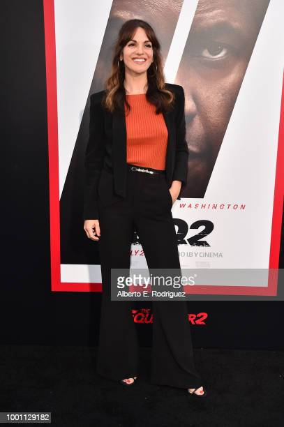 Abigail Marlowe attends the premiere of Columbia Pictures' 'Equalizer 2' at the TCL Chinese Theatre on July 17 2018 in Hollywood California