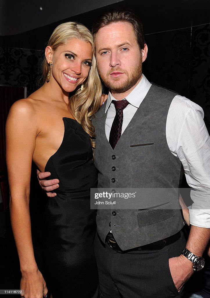 Abigail Ochse and actor A.J. Buckley attend the 'Skateland' after party on May 11, 2011 in Hollywood, California.