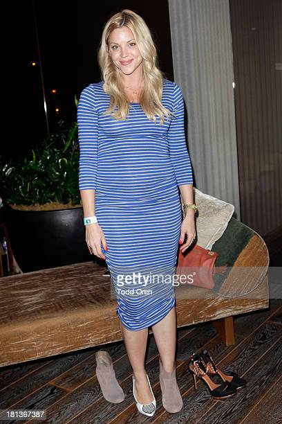 Abigail Ochse attends Kari Feinstein's PreEmmy Style Lounge at the Andaz Hotel on September 20 2013 in Los Angeles California
