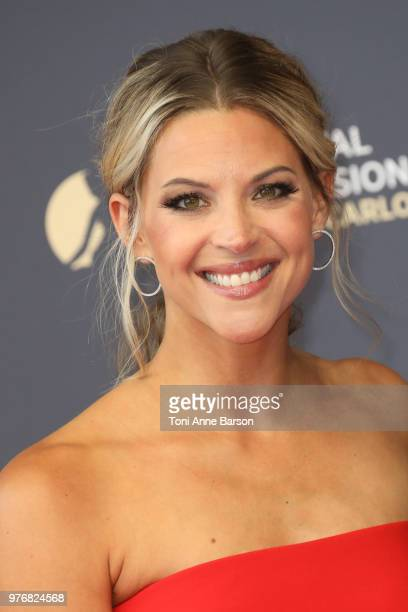 Abigail Ochse attends the opening ceremony of the 58th Monte Carlo TV Festival on June 15 2018 in MonteCarlo Monaco