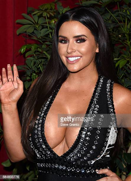 Abigail Ratchford arrives at the Maxim Hot 100 Party on July 30 2016 in Los Angeles California