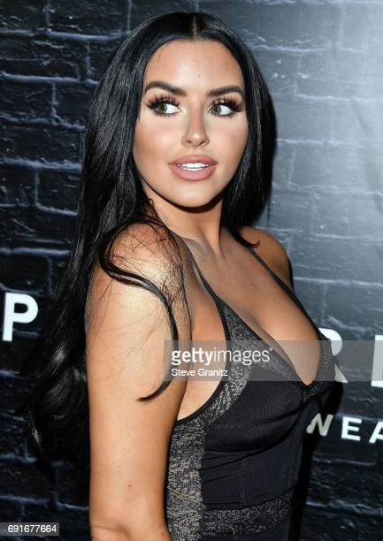 Abigail Ratchford arrives at the Prive Revaux Launch Event at Chateau Marmont on June 1 2017 in Los Angeles California