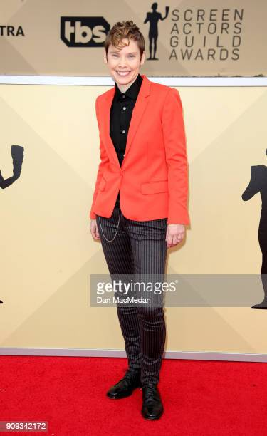 Abigail Savage arrives at the 24th Annual Screen Actors Guild Awards at The Shrine Auditorium on January 21 2018 in Los Angeles California
