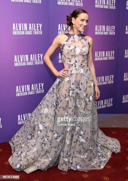 Abigail Simon attends Alvin Ailey's 2017 Opening Night Gala at New York City Center on November 29 2017 in New York City