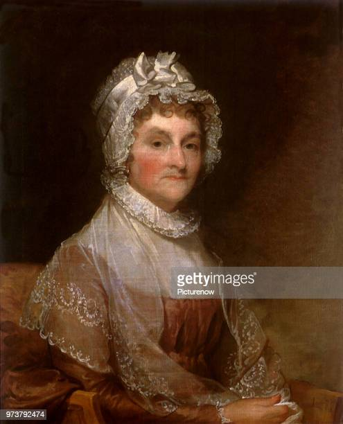 Abigail Smith Adams 1800 Stuart Gilbert 1800