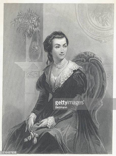Abigail Smith Adams Engraved after painting Undated Photograph