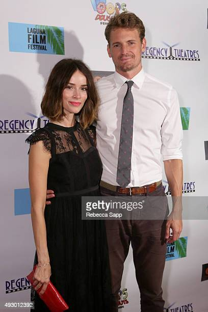 Abigail Spencer and Josh Pence of Winter Light at the 1st Annual Laguna Film Festival Day 1 on October 16 2015 in Laguna Niguel California
