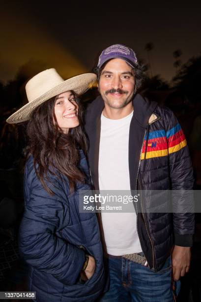 Abigail Spencer and Josh Radnor attend Cinespia's screening of 'Harry Potter and the Prisoner of Azkaban' held at Hollywood Forever on August 28,...