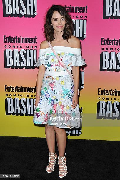 Abigail Spencer arrives at Entertainment Weekly's Annual ComicCon Party at Float at Hard Rock Hotel San Diego on July 23 2016 in San Diego California