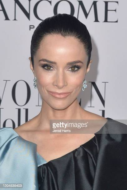 Abigail Spencer arrives at Vanity Fair and Lancôme Women In Hollywood Celebration at Soho House on February 06 2020 in West Hollywood California