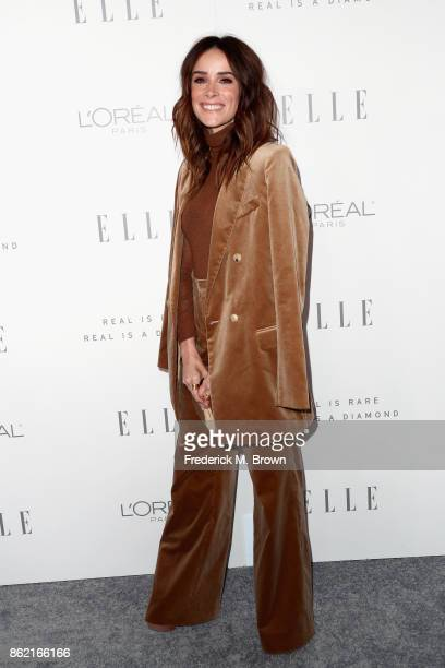 Abigail Spencer attends ELLE's 24th Annual Women in Hollywood Celebration at Four Seasons Hotel Los Angeles at Beverly Hills on October 16 2017 in...