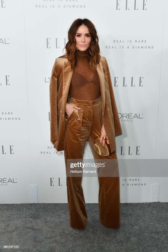 Abigail Spencer attends ELLE's 24th Annual Women in Hollywood Celebration presented by L'Oreal Paris, Real Is Rare, Real Is A Diamond and CALVIN KLEIN at Four Seasons Hotel Los Angeles at Beverly Hills on October 16, 2017 in Los Angeles, California.