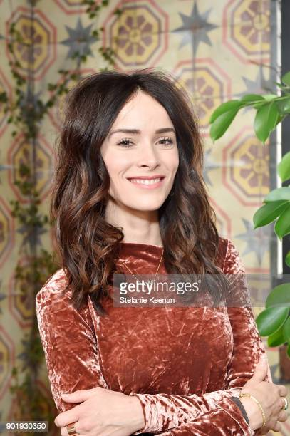 Abigail Spencer attends Lynn Hirschberg Celebrates W Magazine's It Girls With Dior at AOC on January 6 2018 in Los Angeles California