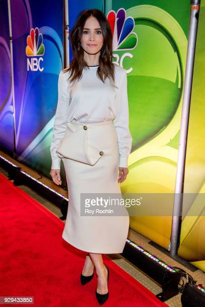 Abigail Spencer attends NBC's New York mid season press junket at Four Seasons Hotel New York on March 8 2018 in New York City