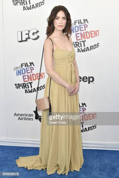 Abigail Spencer attends the 2018 Film Independent Spirit Awards - Arrivals on March 3, 2018 in Santa Monica, California.