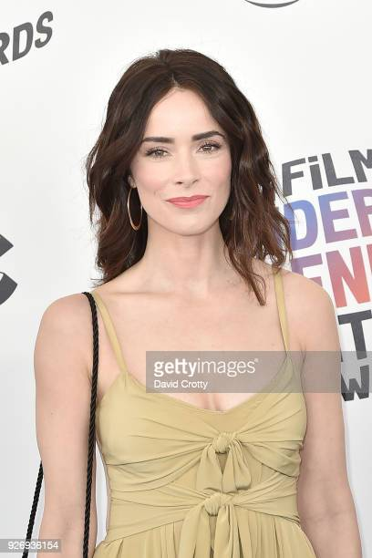 Abigail Spencer attends the 2018 Film Independent Spirit Awards Arrivals on March 3 2018 in Santa Monica California