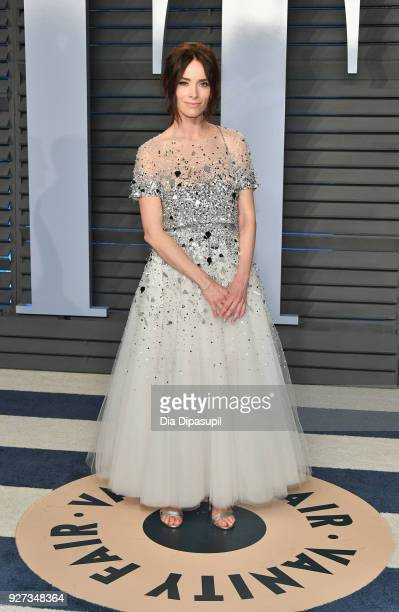 Abigail Spencer attends the 2018 Vanity Fair Oscar Party hosted by Radhika Jones at Wallis Annenberg Center for the Performing Arts on March 4 2018...