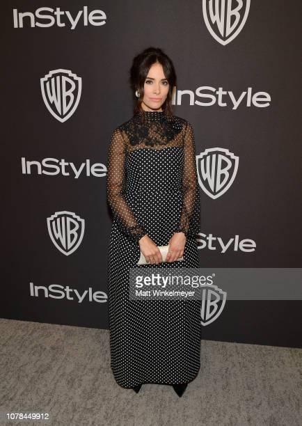 Abigail Spencer attends the 2019 InStyle and Warner Bros 76th Annual Golden Globe Awards PostParty at The Beverly Hilton Hotel on January 6 2019 in...
