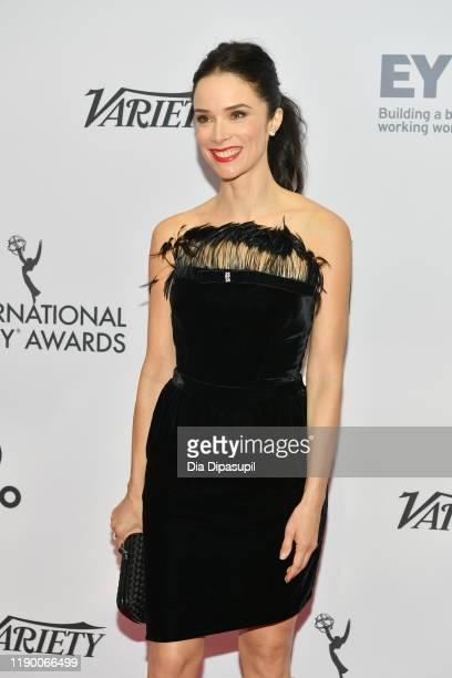 Abigail Spencer attends the 2019 International Emmy Awards Gala on November 25 2019 in New York City