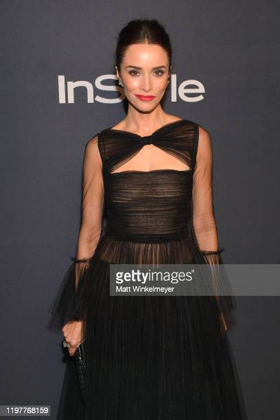 Abigail Spencer attends The 2020 InStyle And Warner Bros. 77th Annual Golden Globe Awards Post-Party at The Beverly Hilton Hotel on January 05, 2020...