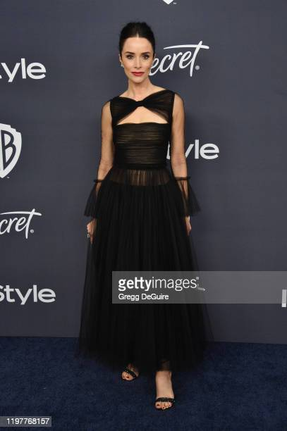 Abigail Spencer attends the 21st Annual Warner Bros And InStyle Golden Globe After Party at The Beverly Hilton Hotel on January 05 2020 in Beverly...