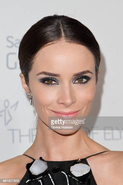 Abigail Spencer attends the Art of Elysium and Samsung Galaxy Marina Abramovic's HEAVEN Gala at Hangar 8 on January 10 2015 in Santa Monica California