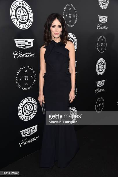 Abigail Spencer attends The Art Of Elysium's 11th Annual Celebration on January 6 2018 in Santa Monica California