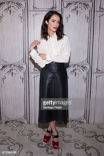 Abigail Spencer attends The Build Series Presents Abigail Spencer Discussing Her New Sow 'Timeless' at AOL HQ on October 3 2016 in New York City